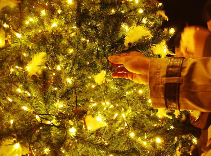 みんなでクリスマスツリーを飾れる!幸せのクリスマスベルツリー