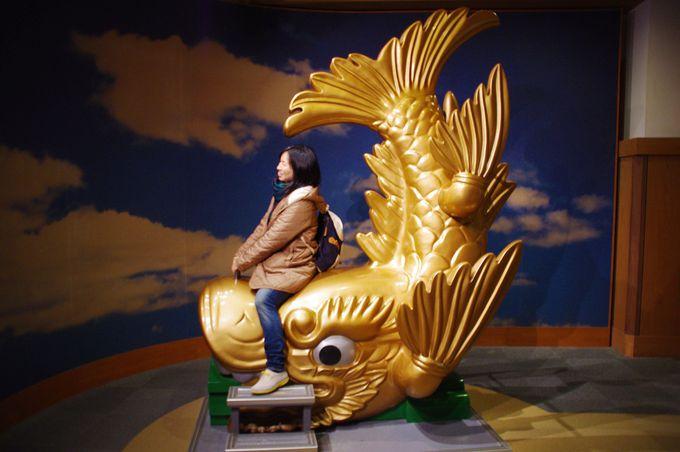 """名古屋城と言えば、やっぱり""""金のシャチホコ""""だがね♪"""