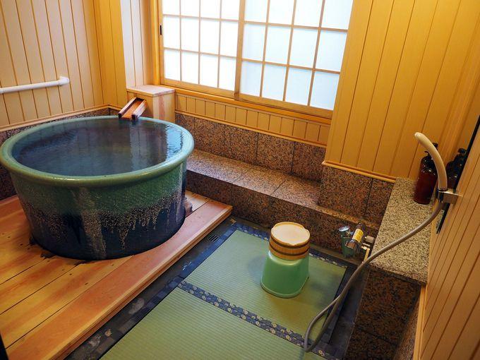 2013年に4つの貸切風呂をリニューアル!