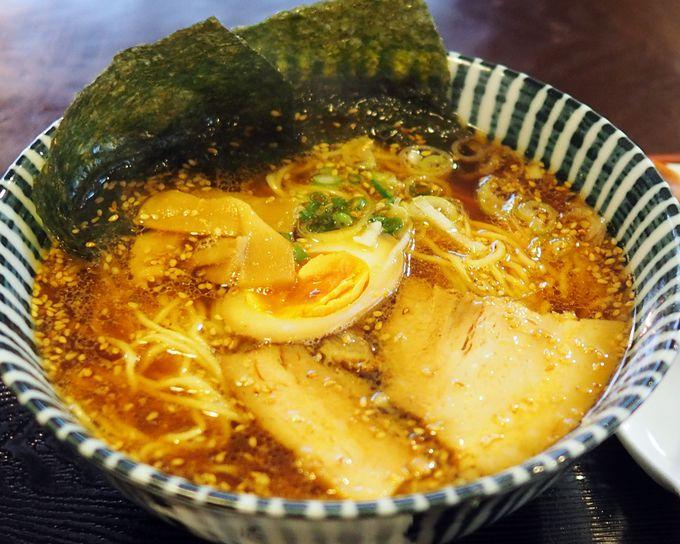 鎌倉ランチにおすすめ!数十種類の出汁が効いた、和風ラーメン