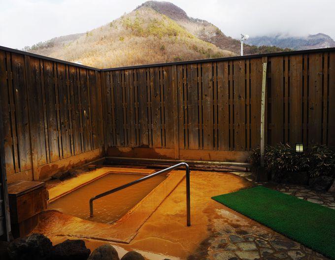 「松代荘」宿泊者は、内湯・露天7つのお風呂で温泉三昧