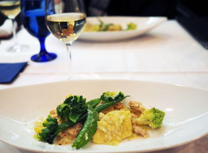 和とイタリアンを融合させた、新感覚の創作料理