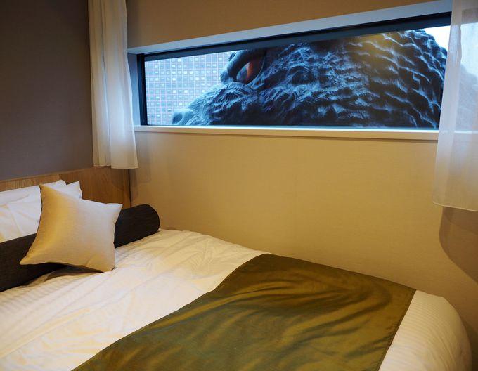 すぐそこにゴジラ!「ホテルグレイスリー新宿」ゴジラビュールーム