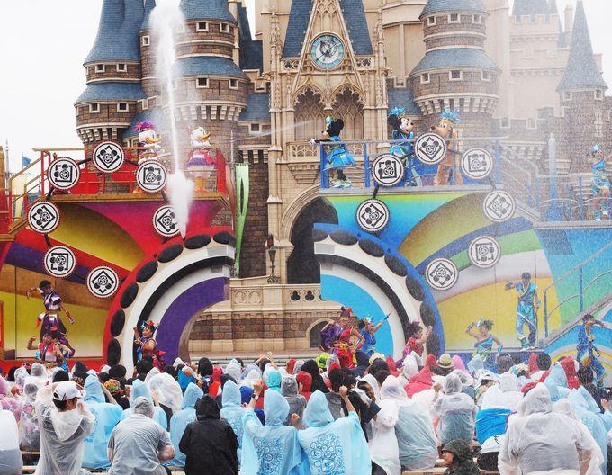"""東京ディズニーランドのメインショー""""雅涼群舞(がりょうぐんぶ)"""""""