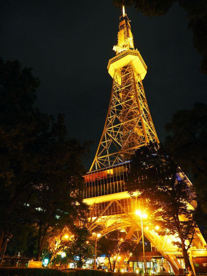 名古屋栄のシンボル「名古屋テレビ塔」は日本最古の電波塔