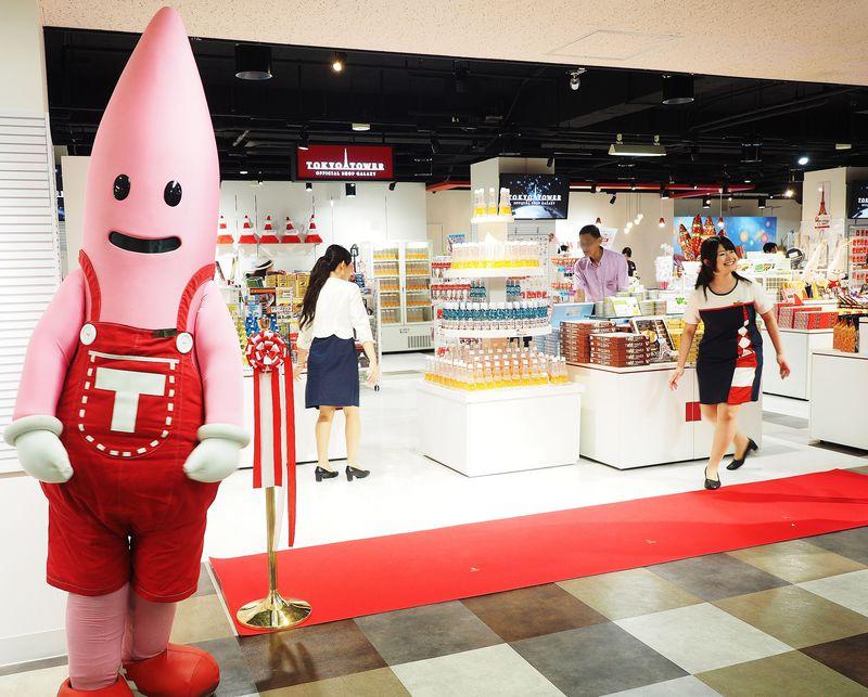 東京タワー公式ショップがさらに大きく!おしゃれ東京土産が大集合