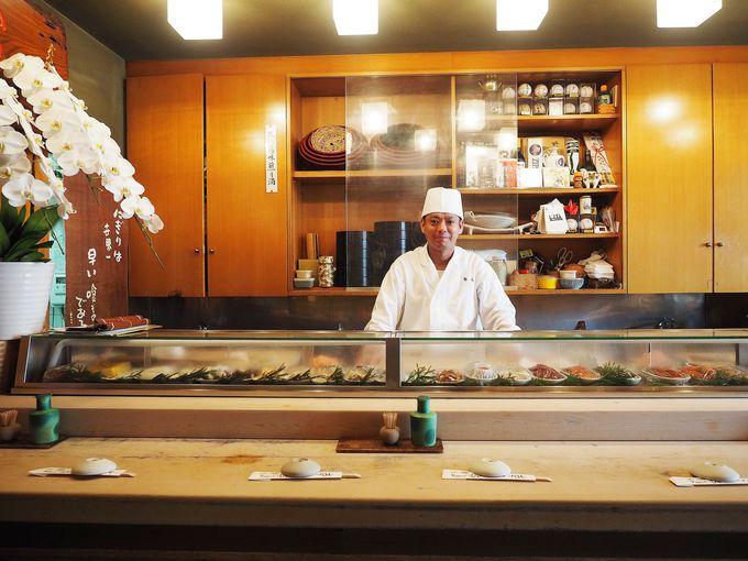 ネタの豊富さは浅草一!2代目が握る粋な本格江戸前寿司