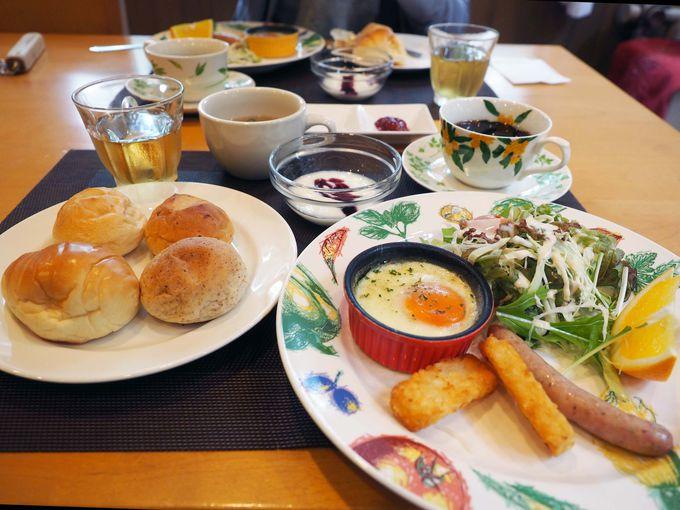 長野の食材をふんだんに使ったボリューム満点のお料理