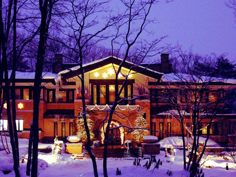 気分は森の妖精!白馬リゾートホテル ラ ネージュ東館は美しい森に建つ欧風ホテル