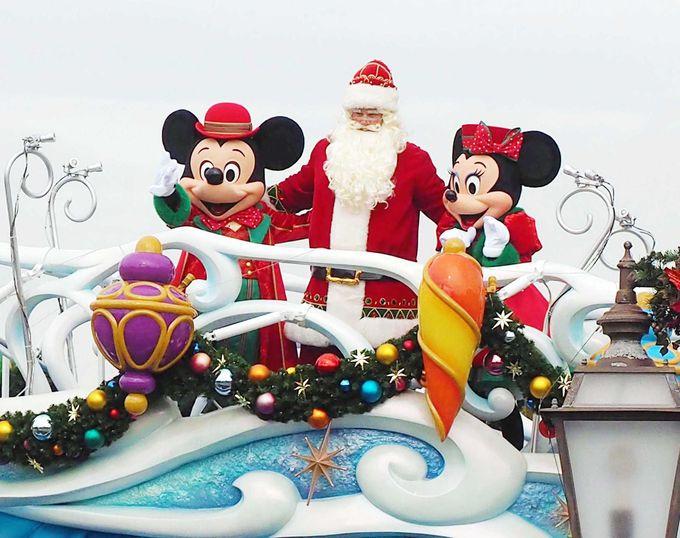 サンタさんも登場!新ハーバーショー『パーフェクト・クリスマス』