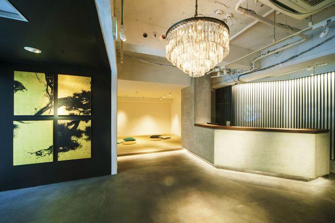 東京らしいモダンなデザインをたっぷり詰め込んだ空間