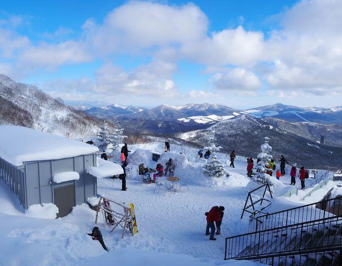 標高1,088mだからこそ見られる冬の絶景スポット