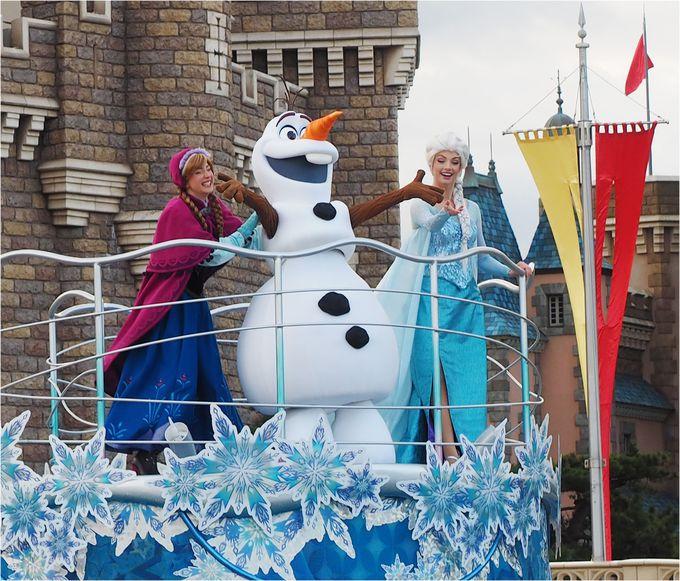 初開催!雪降る中で一緒に歌って踊れるグリーティング