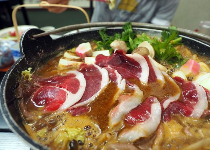個性あふれる「七沢荘」の夕食