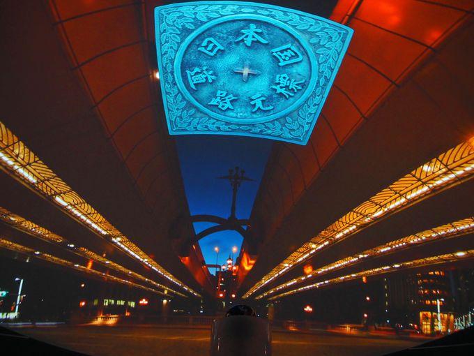 日本橋から見る江戸時代の星空も人気