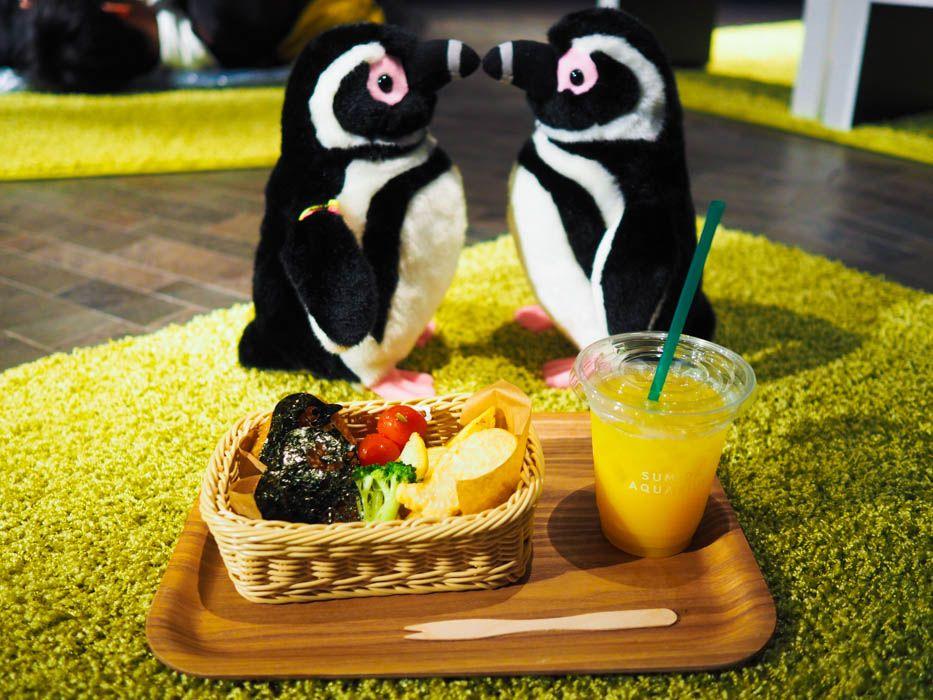 ペンギンが主役のランチボックスが登場