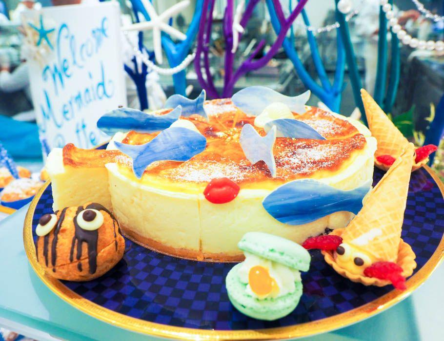 人魚姫がテーマ「新宿・京王プラザホテル」夏のスイーツブッフェが可愛すぎ〜!!