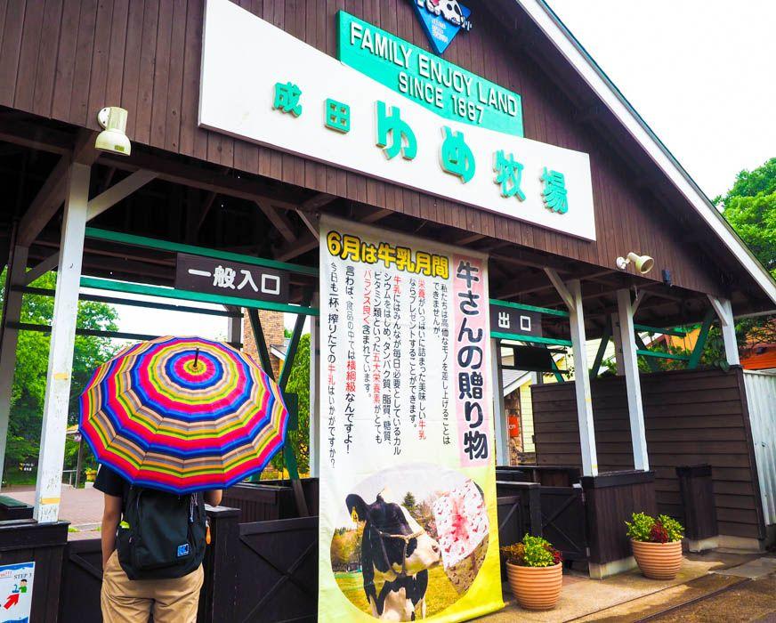 「成田ゆめ牧場」雨の日割引ってどんなサービス?