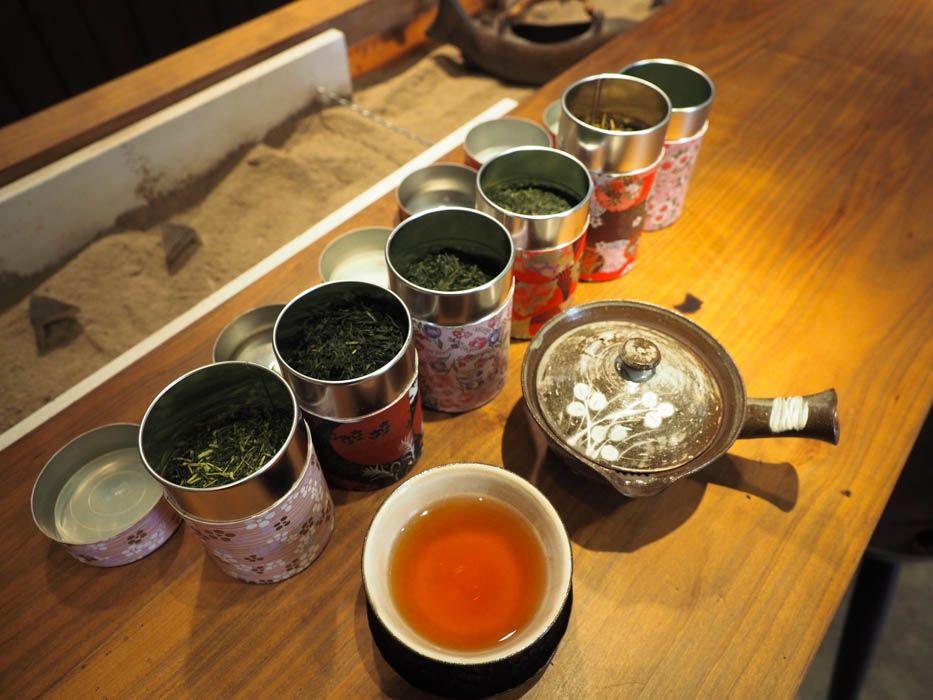 24時間OK!好きなお茶(6種類)のルームサービス