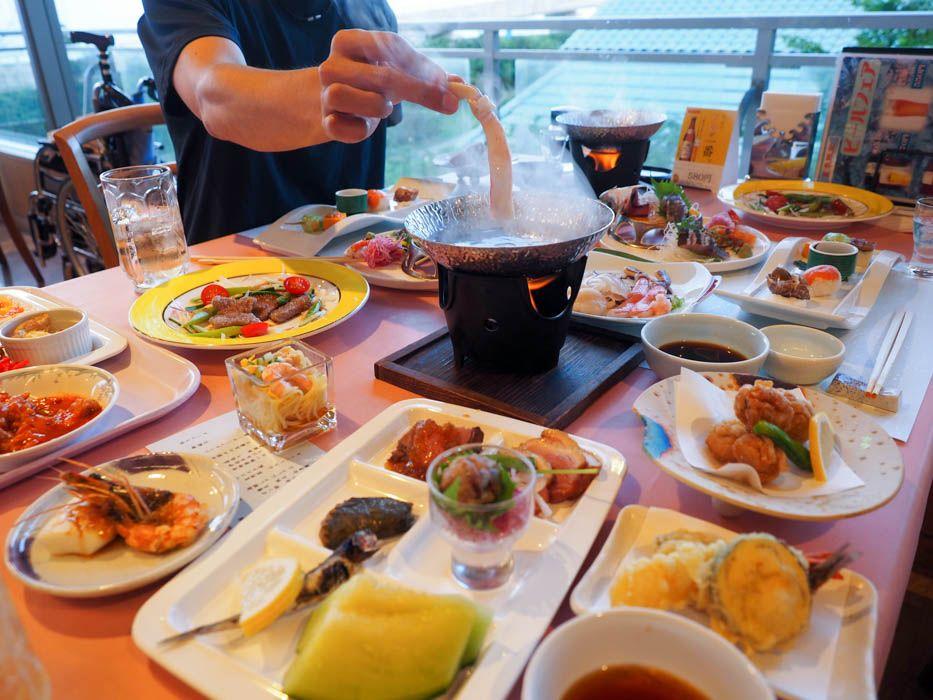 千葉の郷土料理コーナーも!超豪華な懐石&バイキング
