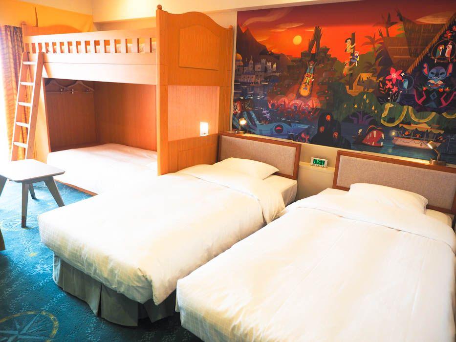 最大7名まで利用できる2段ベッドの客室も登場