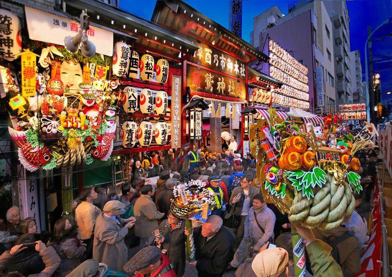 浅草「鷲神社」2018年酉の市、隠れた人気お守りとは?