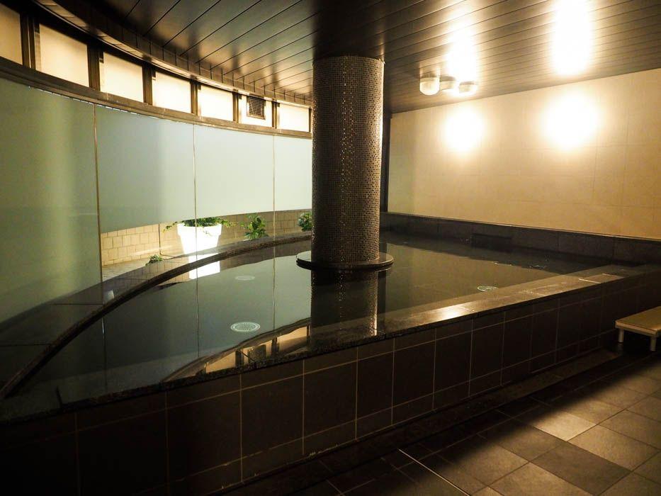 ファーストキャビンの中でもトップクラスの広さを誇る大浴場
