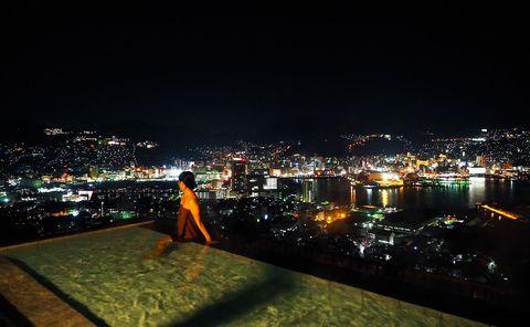 女子2人が長崎絶景露天ホテルを堪能したよ!