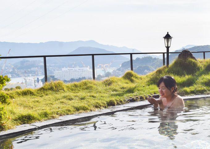 息をのむ絶景温泉!2種類の露天風呂と内風呂