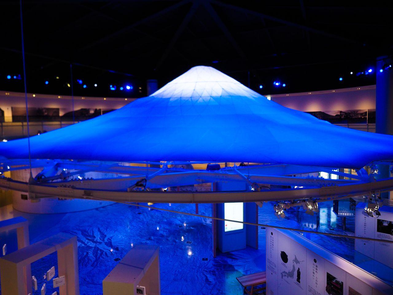 冬でも富士登山が楽しめる?ディープな展示にびっくり