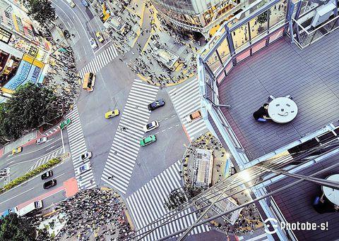 渋谷スクランブル交差点でこの絶景を撮ろう