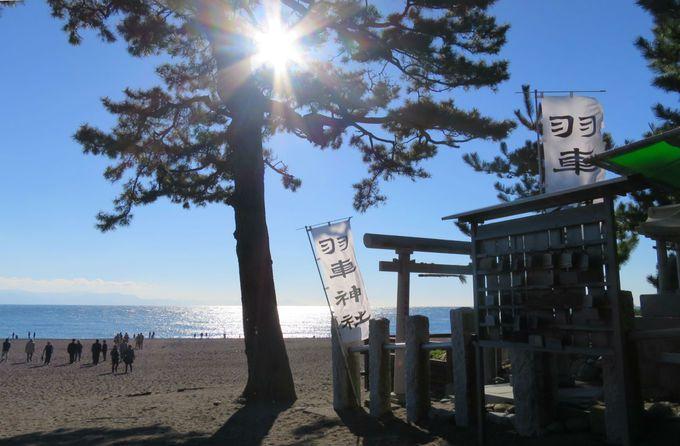 パワーストーン「はちまき石」と羽車(はぐるま)神社