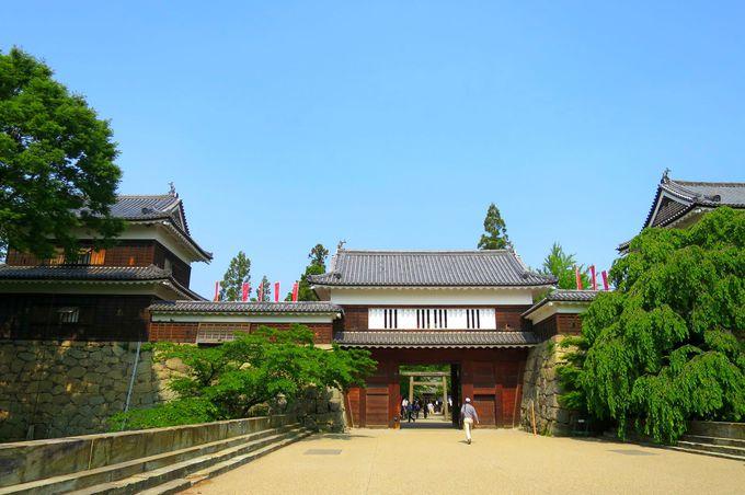 上田城跡公園もすぐそこ
