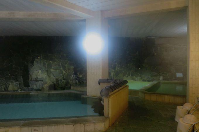 大浴場はお肌つるつる天然保湿成分メタケイ酸