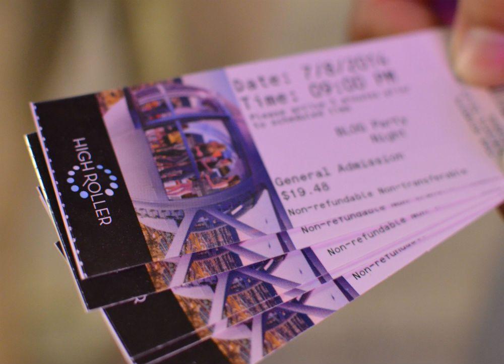 チケット購入はいろいろな場所で可能