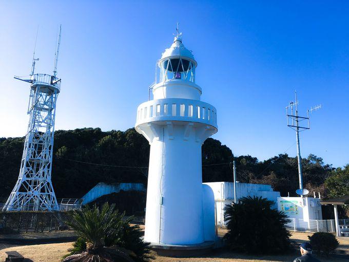 """カップルと訪れたい""""恋する灯台""""「細道灯台」も遊歩道内にあり"""