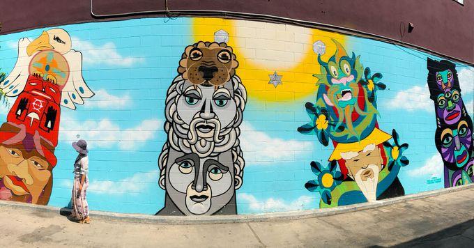 番外編:そのほかにも個性的なストリートアートが点在