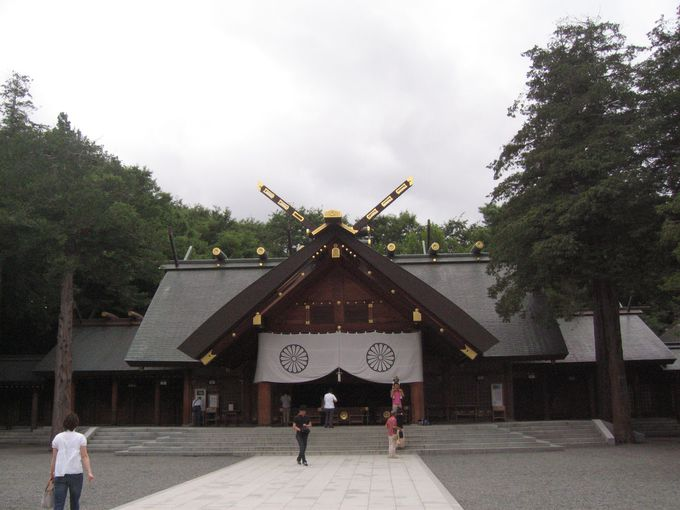 「北海道神宮」は北海道・国土の神!!