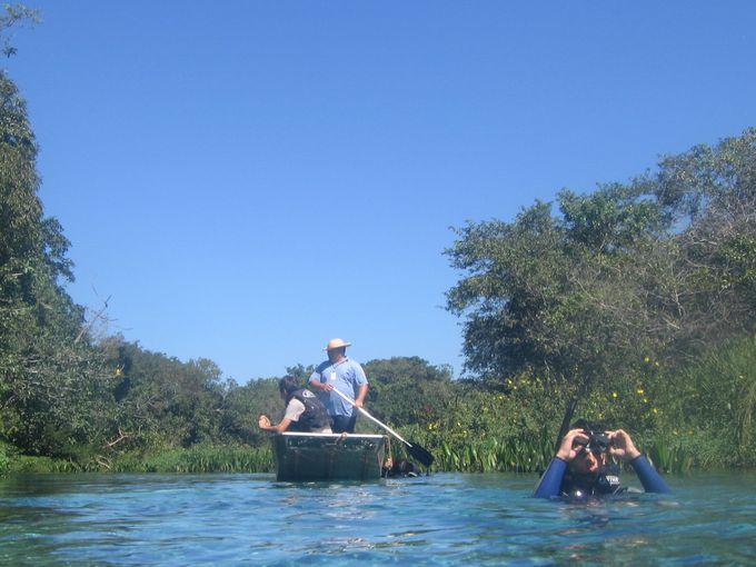 泳力不要!川の流れに流されるだけのフローティングツアー