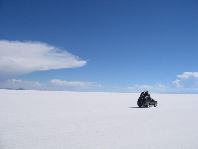 これがウユニ塩湖だ!!