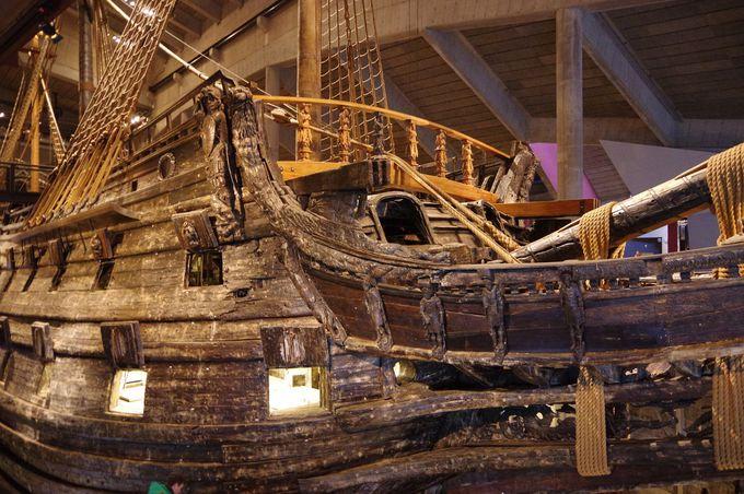 17世紀の沈没船が展示物!ヴァーサ博物館(VASA MUSEUM)
