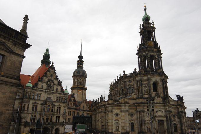 東部ドイツのドレスデン