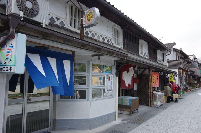 「のれんの町」岡山県真庭市の勝山・町並み保存地区