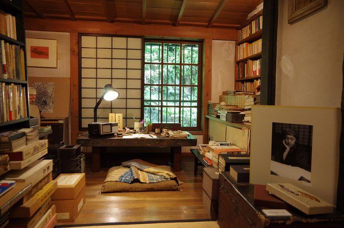 白洲正子の書斎