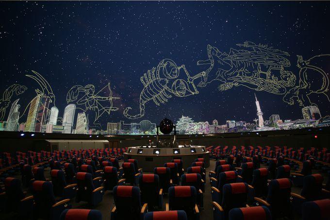 世界最大のプラネタリウム!名古屋市科学館で学芸員の生解説付き天体観測