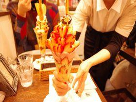 名古屋でパフェと言ったらここ!Cafe de Lyonでご褒美パフェ