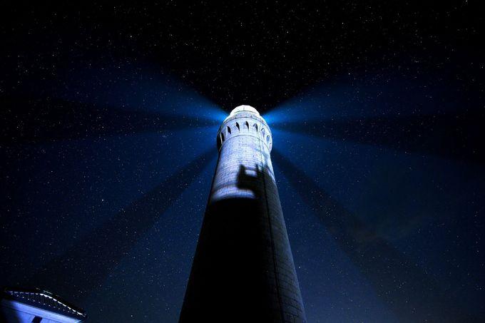 星空も素敵な角島灯台