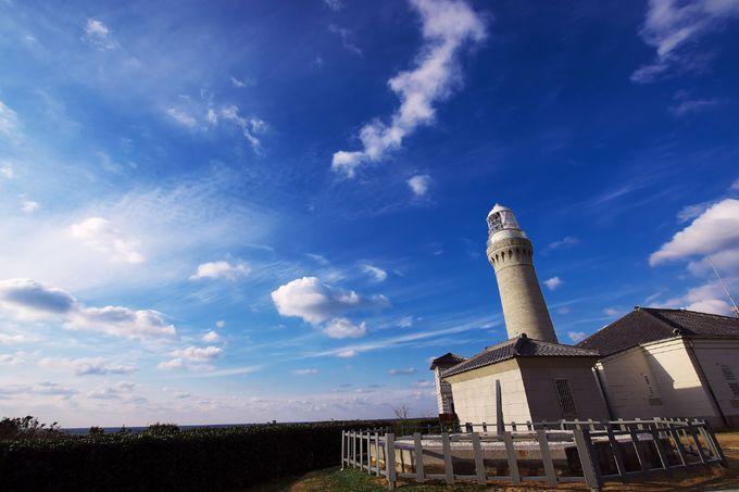 「恋する灯台」に認定の角島灯台
