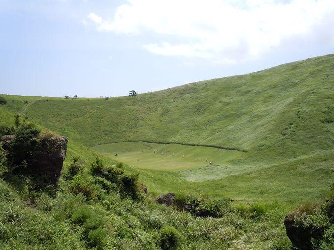 伊豆単成火山群の中で最大のスコリア丘