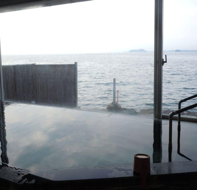 淡島温泉をこころゆくまで堪能